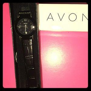 Avon diamond accent watch